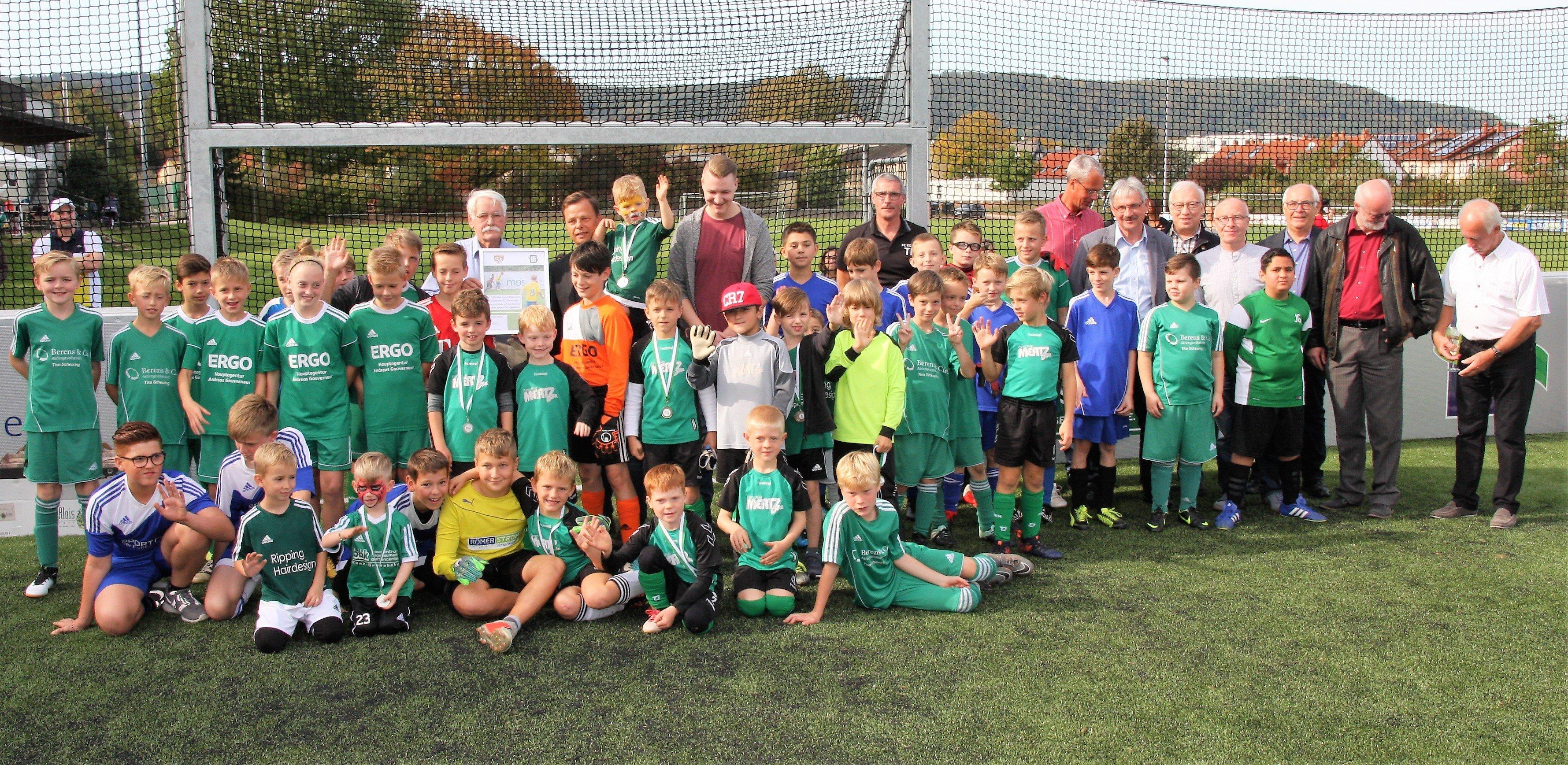 Fc Konen Feiert Auf Neuem Mini Spielfeld Fussballverband