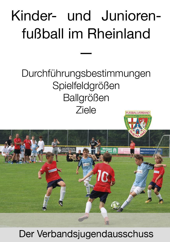 Neuer Fvr Flyer Kinder Und Juniorenfussball Im Rheinland