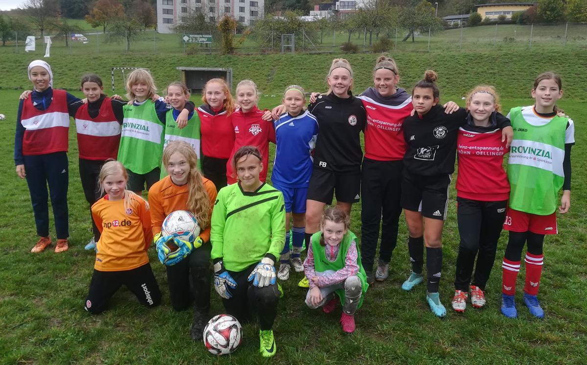 Fussball Madchen Im Fussballverband Rheinland Juniorinnen